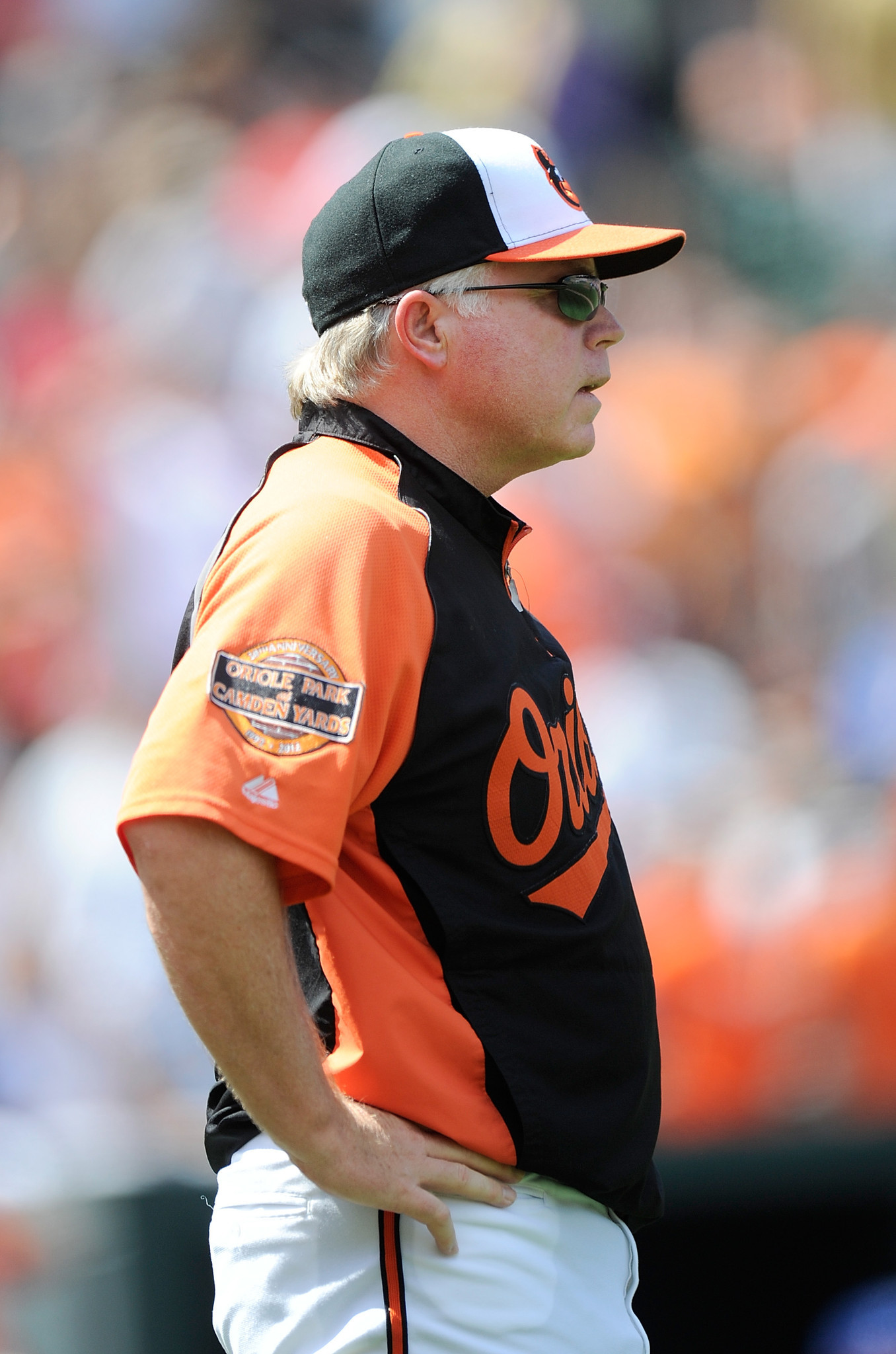The many emotions of Buck Showalter [Pictures] - Happy