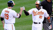 Steve Johnson and Adam Jones lead Orioles to 4-1 win over Blue Jays in Game 1 of doubleheader