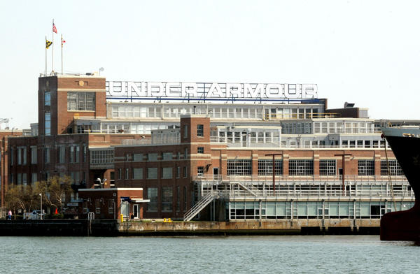 Under Armour's Tide Point headquarters in Locust Point.