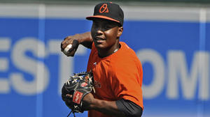 Orioles notes: L.J. Hoes has dedicated his standout season to his late grandfather