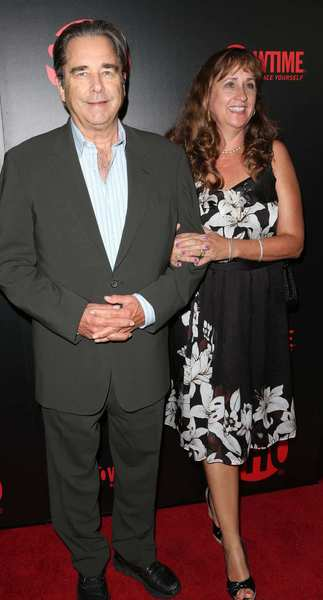 Actor Beau Bridges and his wife