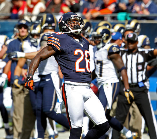 Bears cornerback Tim Jennings has surrendered a 4.9 passer rating through three games.