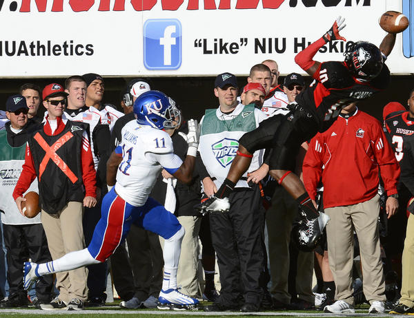 Northern Illinois' victory over Kansas was its first against a BCS-conference opponent since 2010 at Minnesota.