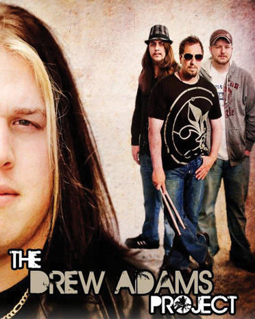 "The Drew Adams Project consists of, from left, Drew Adams, Josh ""Duff"" Sanders, Pat Henson and Adam Brosious."