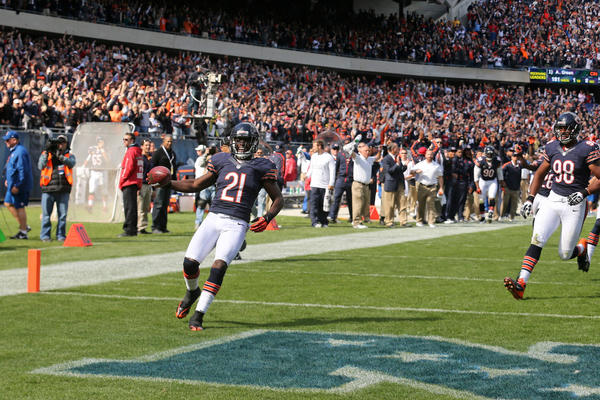 Safety Major Wright's pick-6 was a critical play for the Bears.