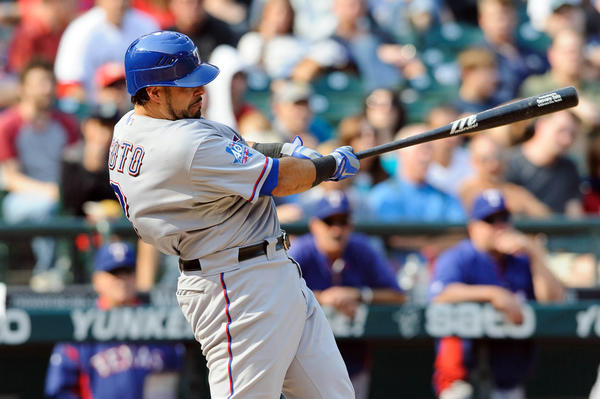 Geovany Soto and the Rangers are in good shape heading into October.