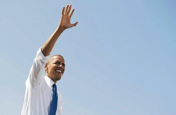 President Obama on the campaign trail. Among his major supporters are Native American tribes, who say they've found an ally in Obama and are contributing heavily to his campaign.
