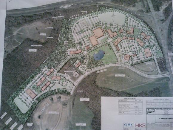 Havre de Grace medical campus concept plan