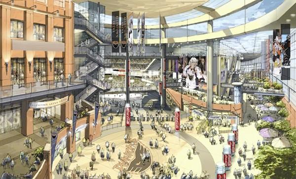 Arena developer Hammes Sports Development Group expects $272 million will be spent to build the hockey arena, office building and hotel project in downtown Allentown.