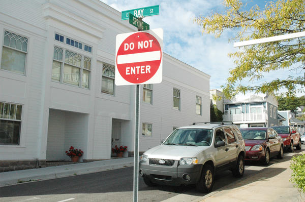 One of the suggestions that came out of Harbor's Downtown Vision Plan is to turn the one-way Spring Street into a pedestrian park.