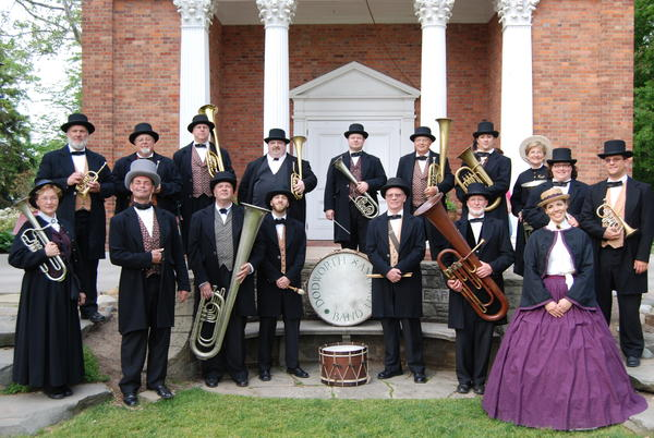 The Dodworth Saxhorn Band will open the Crooked Tree Arts Center Performing Arts Series on Friday, Oct. 5, in Petoskey.