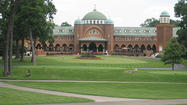 The U.S. and European Ryder Cup teams are holding their first day of practice rounds at Medinah Country Club on Tuesday.