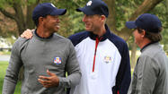 They call the home Ryder Cup crowd the 13th man. Jim Furyk and Tiger Woods are counting on that 13th man to morph into tens of thousands of enthusiastic fans at Medinah.