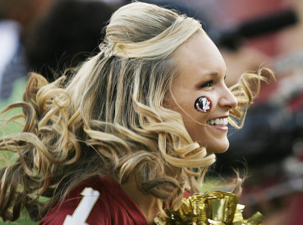 Photos: Florida State football fans and cheerleaders - FSU vs. Clemson