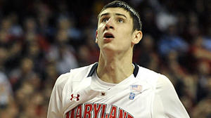 Maryland basketball player Alex Len gives first media interview
