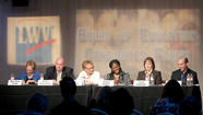 Board of Education candidates square off at forum