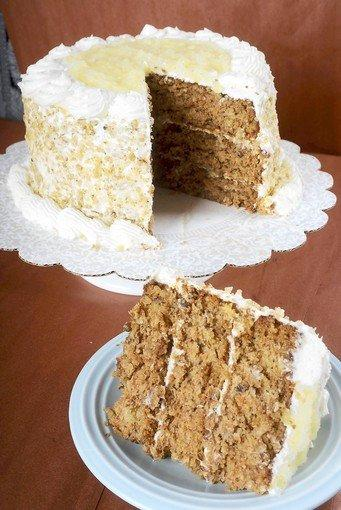 Pam Stettler of Schnecksville won 1st place at the Allentown Fair for her Carrot Cake.