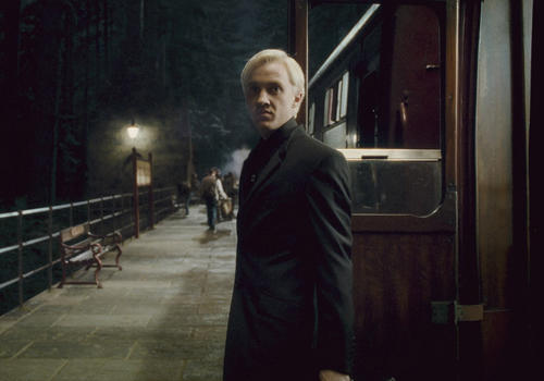 "<b>Draco Malfoy: Tom Felton</b><br> <br> His horror film ""The Disappearance"" debuted at Screamfest in Hollywood, and Felton, who perfected the villainous Malfoy's sneer (pictured here in ""Harry Potter and the Half-Blood Prince""), has also raced ostriches and swam with sharks for the British reality series ""Jack Osbourne Celebrity Adrenaline Junkie."" His latest project, a thriller called ""The Apparition,"" pairs him with ""Twilight"" star Ashley Greene. He also made a memorable appearance in 2011's ""Rise of the Planet of the Apes."""