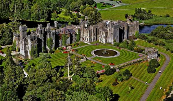 The castle dates to 1228 and was once owned by the Guinness family. It was converted into a hotel in the early 1900s, and it's also home to Ireland's oldest falconry.