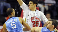 <strong>—</strong> Bulkier and more self-assured, Maryland center Alex Len appears poised for a breakout season after an uneven freshman year in which he said he struggled to adjust to the physical nature of the American game and to understand play calls because of his limited English.