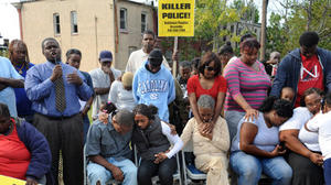 In-custody death brings anger with police in East Baltimore