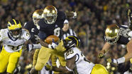 Notre Dame-Michigan football series on hold
