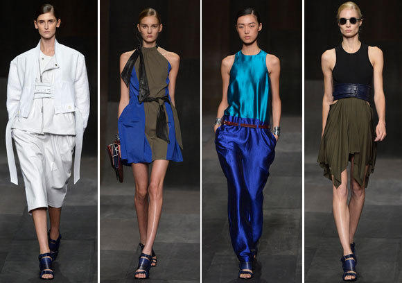 Looks from the Damir Doma runway show at Paris Fashion Week.