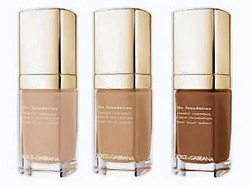 "The design duo Domenico Dolce and Stefano Gabbana have teamed with legendary makeup artist Pat McGrath for an exciting new liquid foundation that the trio promises will ""transcend time, tradition, and trend."" Perfect Luminous Liquid Foundation not only brings a golden radiance to the complexion, it illuminates the skin and nourishes dry skin with a blend of moisturizing agents and conditioning vitamins. The collection consists of about 20 shades, spanning light to dark with the inclusion of three shades specifically geared toward Asian consumers.  Find the Dolce & Gabbana Perfect Luminous Liquid Foundation for $59 at SaksFifthAvenue.com."