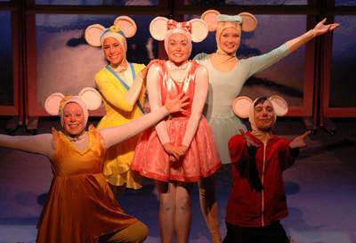 Angelina Ballerina will be shown at 10 a.m. and 6:30 p.m. Wednesday, Oct. 3, at The Capitol Theatre, 159 S. Main St., Chambersburg, Pa.
