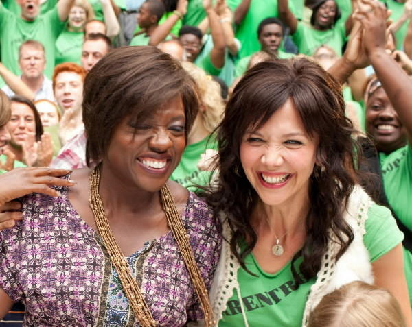 "Maggie Gyllenhaal and Viola Davis star in ""Won't Back Down."""