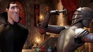 "Dominated by Adam Sandler's D-minus Bela Lugosi impression, the 3-D animated feature ""Hotel Transylvania"" illustrates the difference between engaging a young movie audience and agitating it, with snark and noise and everything but the funny."