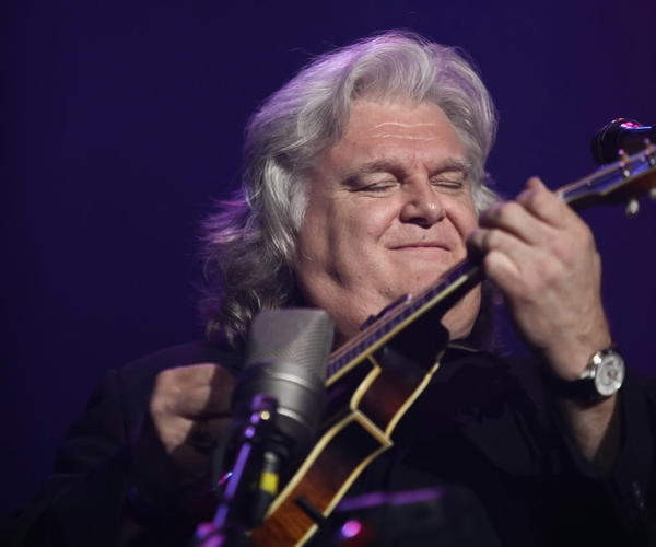 Ricky Skaggs performs at the International Festival Of Country Music at Wembley Arena in London earlier this year.