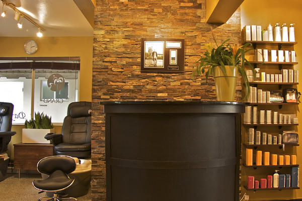 The front desk of the spa at The Grand