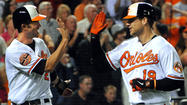 With the way the Orioles have mixed and matched this season, bringing in rookies and former All-Stars, once-weres and never-have-beens to form an eclectic group that keeps winning when it's supposed to fall back to reality, perhaps Wednesday's 12-2 pummeling of the Toronto Blue Jays shouldn't have been a surprise.