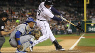 DETROIT -- Pinch-runner Don Kelly scored the go-ahead run in the eighth inning, helping the Detroit Tigers sneak past the Kansas City Royals, 5-4, in the third test of a four-game series.