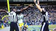 It took this call – made on Monday night, by one of the NFL's replacement referees – to propel a compelling sports story…into the hard news cycle.