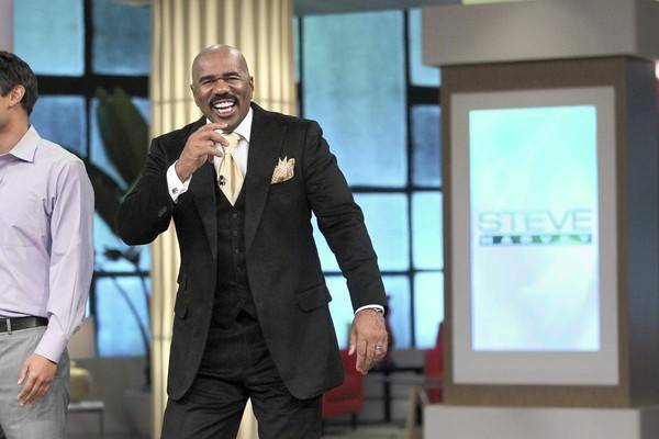 TV and radio host Steve Harvey is living near the top of the world.