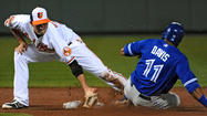 Orioles shortstop J.J. Hardy perseveres through pain against against Blue Jays