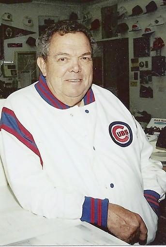 """My second office was Wrigley Field,"" said longtime bookstore owner Robert Beck about his devotion to the Chicago Cubs."