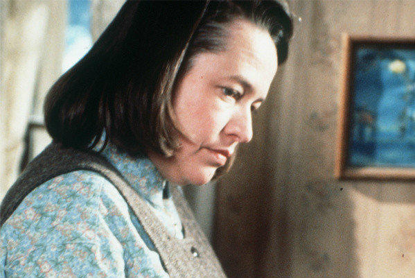 "Oscar-winner Kathy Bates in a scene from the 1990 movie ""Misery."""