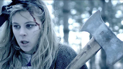 Erin Mae Johnson is one of the stars of Jabberwocky, the best narrative short at this weekend's South Dakota Film Festival. Set in a post-apocolyptic winter wonderland, the 8-minute film is an adaption of the Lewis Carroll poem. Produced in Minneapolis, the film will be shown at Saturday night's session, which begins at 6:30. Courtesy photo