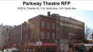 Parkway Theatre renovation proposals presentation