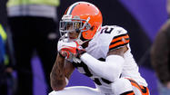 The Cleveland Browns, the Ravens' opponent Thursday night, rank 27th in pass defense in the NFL, and one reason could be the absence of cornerback Joe Haden.