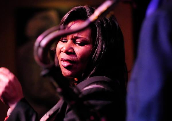 The mighty Chicago vocalist makes a rare appearance with a big band as she plays the Hyde Park Jazz Festival. <br><br><b> 4:30 p.m. Saturday at the Wagner Stage at the Midway, 1130 Midway Plaisance West, as part of the Hyde Park Jazz Festival</b>