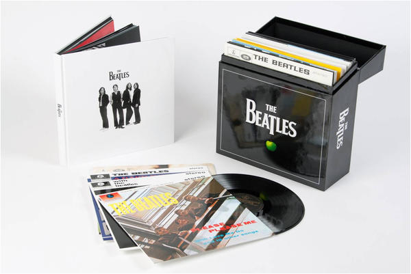 The Beatles' original studio albums will be reissued on vinyl Nov. 13 in North America.