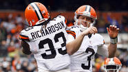 1. Brandon Weeden and Trent Richardson