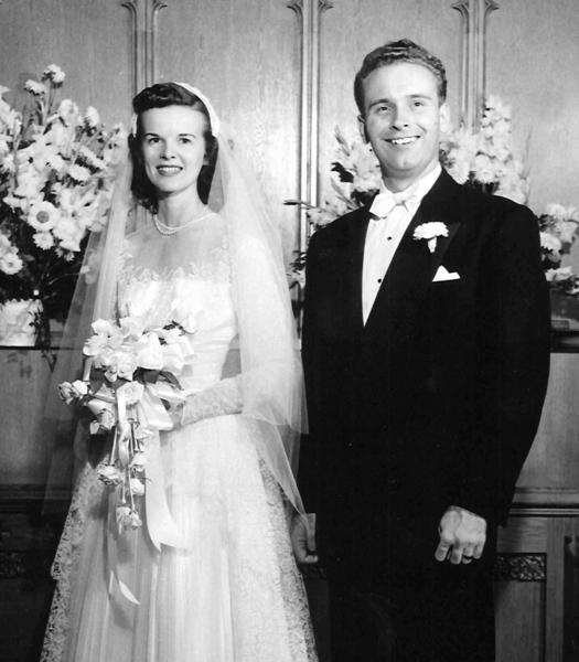 Mr. and Mrs. Richard Crandall, 1952