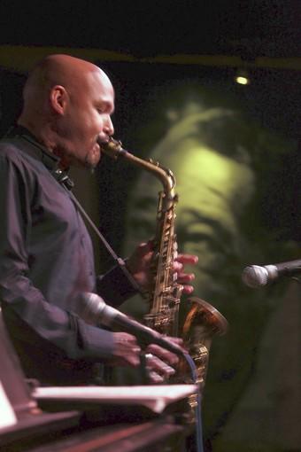 Alto saxophonist Miguel Zenon.