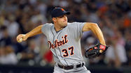 Tigers' Scherzer scratched; Porcello leaves heads scratching