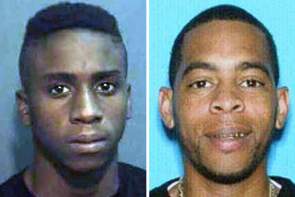 Adriel McKee, 17, left, and Glenn Lamar Quick II, 33, have been identified as persons of interest in the deadly China Wok shooting.